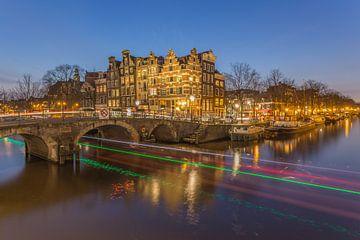 Papiermolensluis en Brouwersgracht in Amsterdam - 5 von Tux Photography