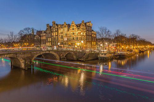 Papiermolensluis en Brouwersgracht in Amsterdam - 5 van Tux Photography