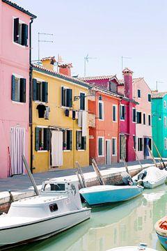 Buntes Venedig | Insel Burano von Milou van Ham
