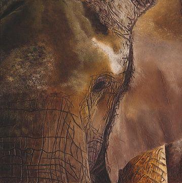 Elefant von Russell Hinckley