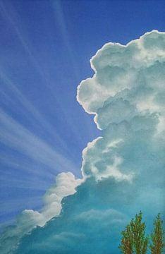 Glorie wolk van Ronald Boon