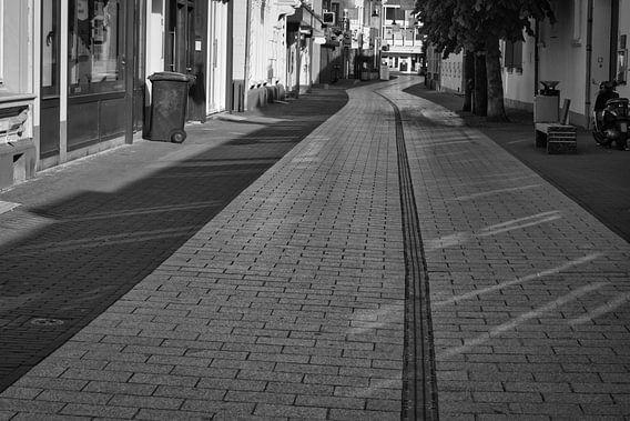 De stilte in de binnenstad van Weert