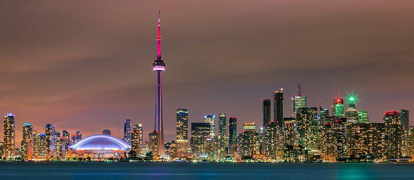 Toronto Skyline van Henk Meijer Photography