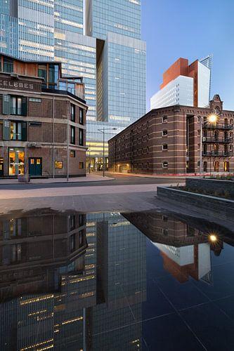 De Rotterdam van achteren