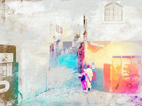 Walking through Morocco van Gabi Hampe