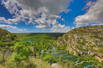 Krka Nationaal Park van Dieter Fischer