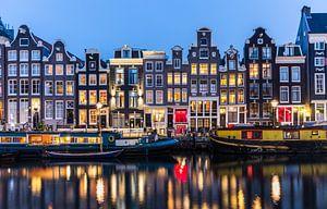 Singel, Amsterdam at night