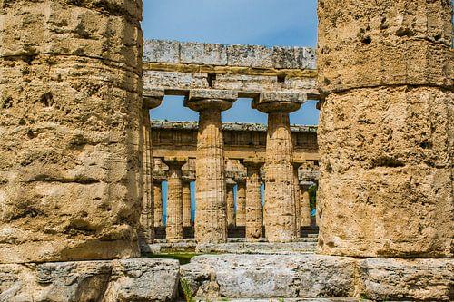 Griekse tempel in Paestum, Italië