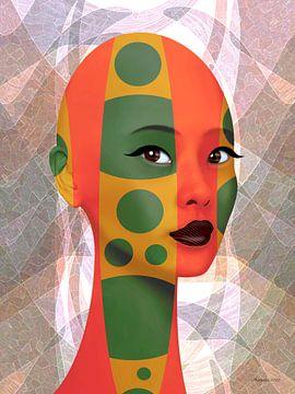Die Kunst der Farben von Ton van Hummel (Alias HUVANTO)