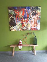 Kundenfoto: Masters at work, Henri Matisse von Giovani Zanolino, auf leinwand