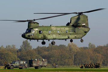 Forces aériennes royales néerlandaises CH-47 Chinook sur Dirk Jan de Ridder