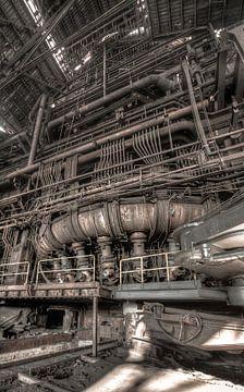 Blast furnace Urbex van