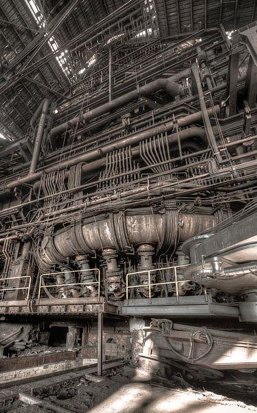 Verbrandingsoven cokesfabriek Urbex van Olivier Van Cauwelaert