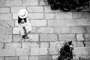 Dubrovnik - Vrouw en Kat van Maurice Weststrate