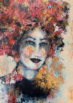 Blumenmädchen von Caroline Jacobs