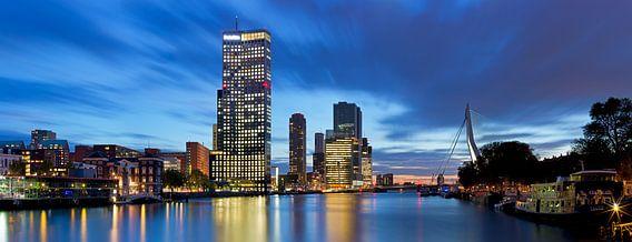 Maastoren Rotterdam panorama van Anton de Zeeuw