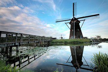 Kinderdijk ,Alblasserdam, Holland von Johan Kramer-Freher