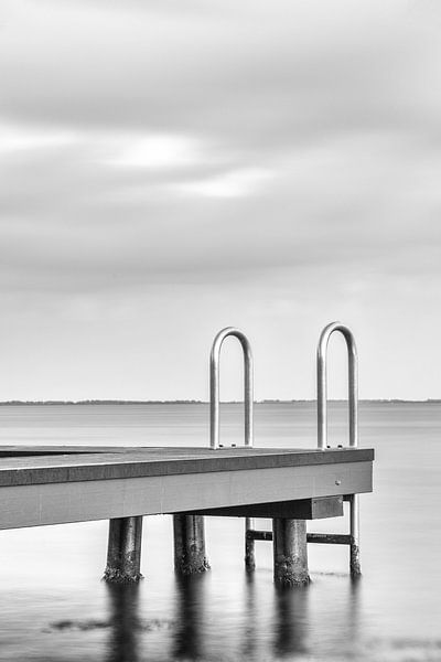 Zwemsteiger aan het Grevenlingenmeer van Rob van der Teen