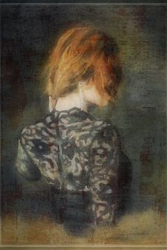 DAME IN SCHWARZ von Kelly Durieu