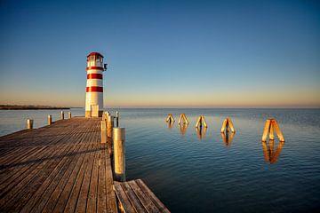 Leuchtturm bei Podersdorf am See