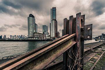 Zicht op Rotterdam van Bert-Jan de Wagenaar