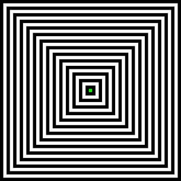 Genesteld in het centrum 01x01 N=14 G van Gerhard Haberern