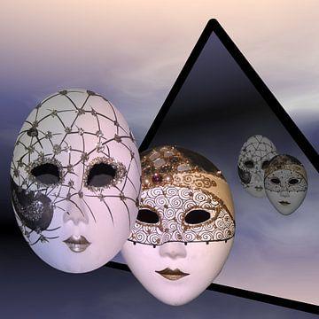 Masken der Nacht van Isa Bild