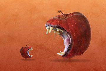 Böser Apfel - Bad Apple von Ursula Di Chito