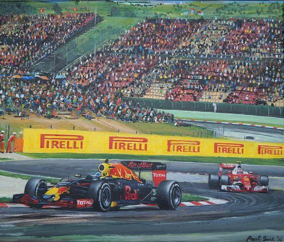 Max Verstappen Spanje 2017