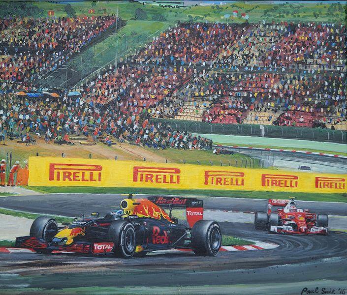 Max Verstappen Spanje 2017 van paul smit