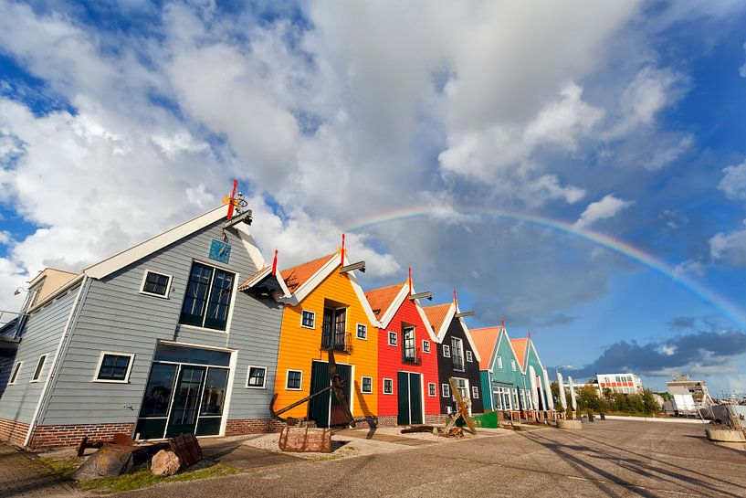 Rainbow in Zoutkamp van Olha Rohulya