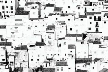 Witte Huizen von John Monster