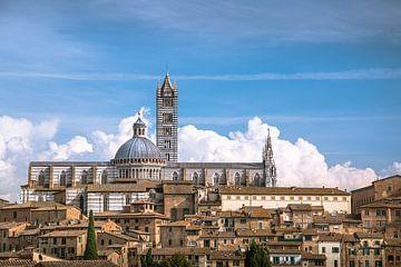 Duomo van Siena in de wolke van Jelmer Laernoes