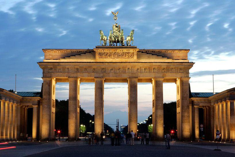 Berlijn, Brandenburger Tor van Gerrit de Heus
