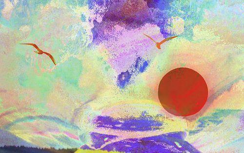 Abstraktion Himmel sur