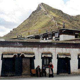 Locals op de Tibetaanse hoogvlakte van Zoe Vondenhoff