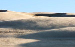 Sandsturm im Worimi-Nationalpark, Australien von Rob van Esch