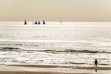 Botters op de Noordzee sur Brian Morgan