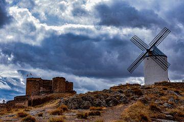Windmills of Consuegra, Spain. von Ivan Baxarias