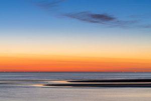 Zonsondergang Katwijk aan Zee (NL) van Paul van der Zwan