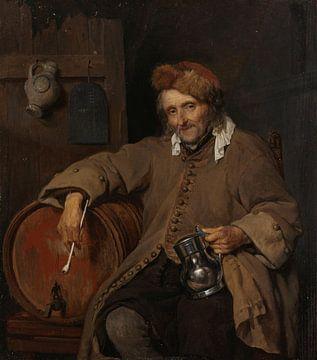 Der alte Trinker, Gabriël Metsu