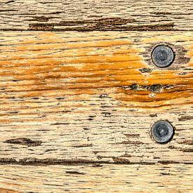 Ruw houten tafelblad van Frans Blok