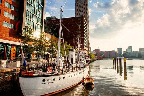 De Castor in de Rijnhaven Rotterdam van