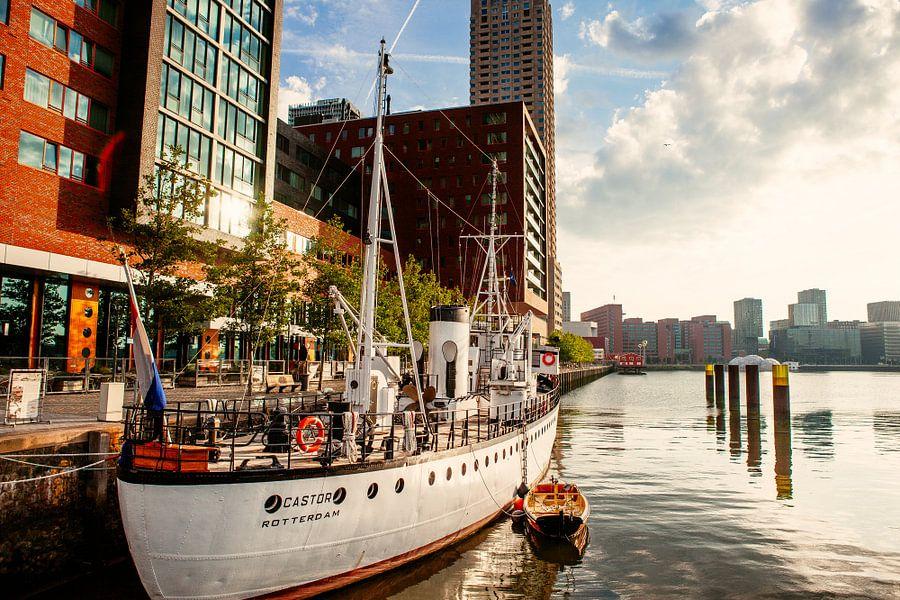 De Castor in de Rijnhaven Rotterdam