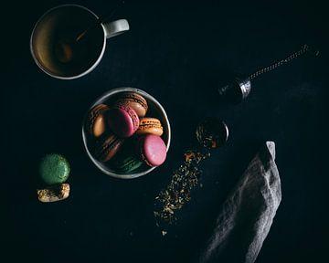 Macarons sur Daisy de Fretes