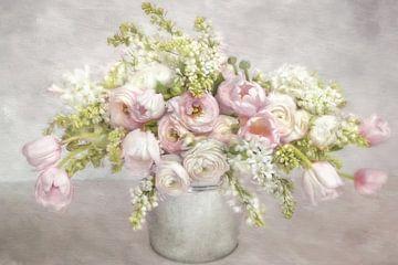 Een adem van de lente - lente fris van Lizzy Pe