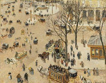La Place due Théâtre Français, Camille Pissarro sur