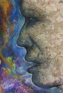 Stone gezicht van Bojan Eftimov