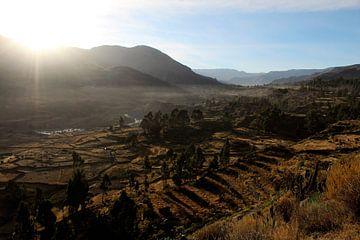 Peru uitzicht van Berg Photostore