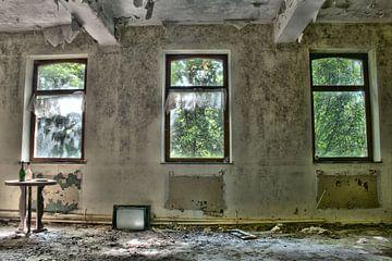 Architectuur verlaten woning  von